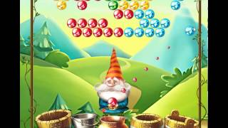 guide, tips, and cheats from Bubble and the Seven Dwarfs Level 3 in video