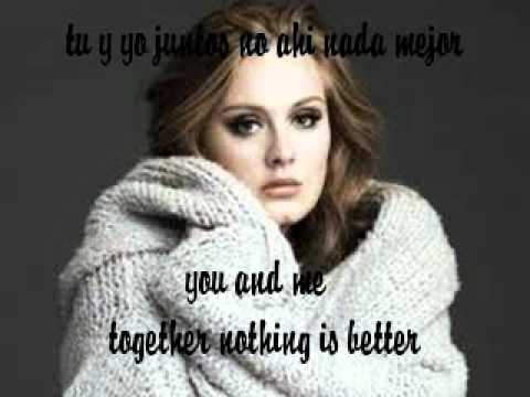 Set Fire To The Rain Adele Español Subtitulos English Lyrics
