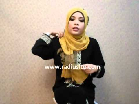how to wear hijab tutorial by radiusite hijabs - Ruffle hijab style
