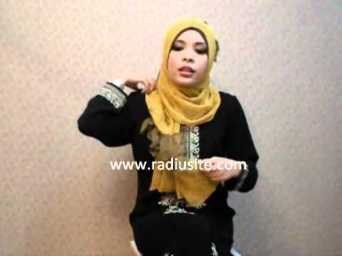 how to wear hijab tutorial by radiusite hijabs - Ruffle hijab style