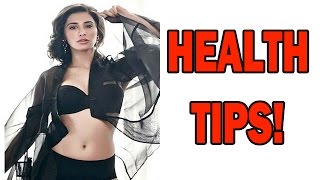 Nargis Fakhri gives Health Tips! | Bollywood News - ZOOMDEKHO