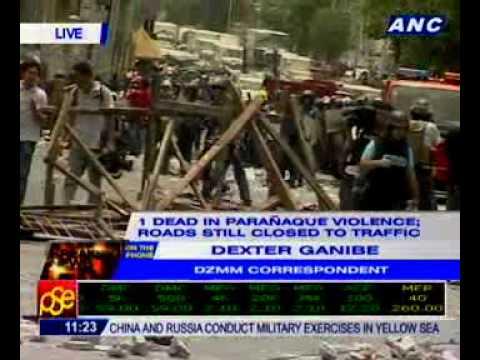 Dexter Ganibe: 1 dead in Parañaque violence