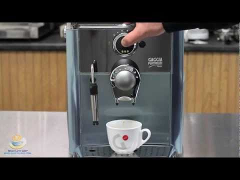 How To Make A Cafe Crema Using A Super automatic Espresso Machine