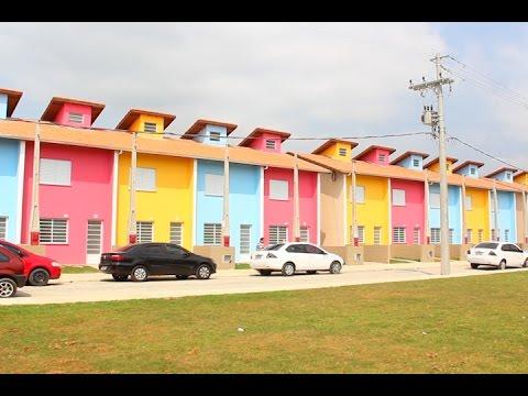 TV Costa Norte - CDHU entrega mais 40 casas no Jardim Vicente de Carvalho