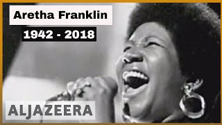 🇺🇸 Aretha Franklin, the 'Queen of Soul', dies at age 76 | Al Jazeera English - ALJAZEERAENGLISH
