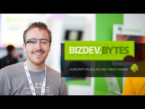 BizDevBytes: Subscription Billing and Tablet Design - Evernote