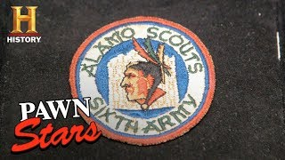 Pawn Stars: Alamo Scouts WWII Military Patch (Season 15) | History - HISTORYCHANNEL