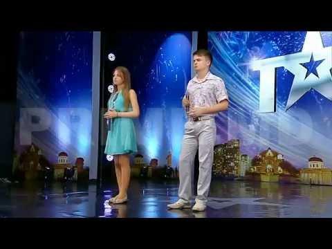 Moldova Are Talent - Mihaela Renita & Vasile Vanica 28.11.2014 Sezonul 2, Ep.11
