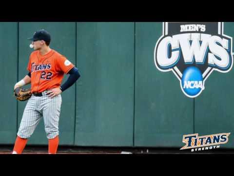 Cal State Fullerton Titans Baseball Fall 2015 Training Video