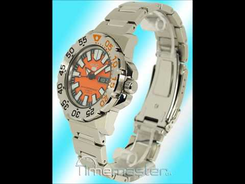 Seiko Sports SNZF49K1 Orange Face Baby Monster