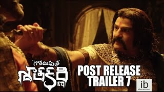 Gautamiputra Satakarni post release trailer 7 - idlebrain.com - IDLEBRAINLIVE