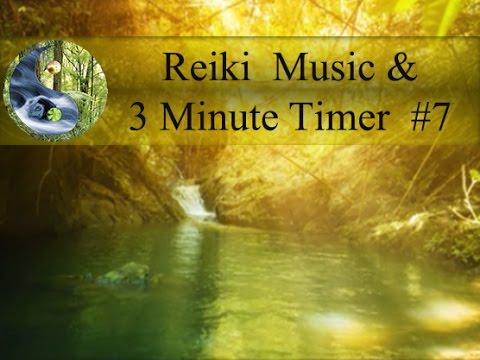 Reiki Music with 3 Minutes Bell;:Reiki Timer: Tibetan bowl Meditation Music; Healing Music 💜
