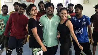 Sampoornesh Babu Aa Ee Song Dance Rehearsal Video | Kobbari Matta Movie - TFPC