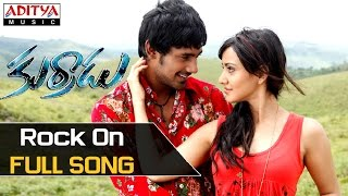 Rock On Full Song - Kurradu Movie Songs - Varun Sandesh, Neha Sarma - ADITYAMUSIC