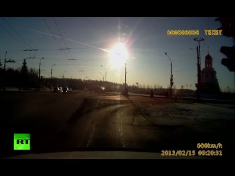 Un meteorito dej cientos de heridos en Rusia
