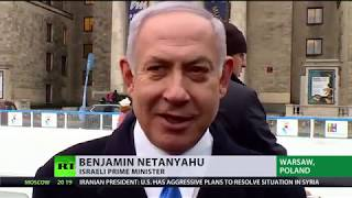 Netanyahu tweets 'war with Iran' then replaces it with 'combating Iran' - RUSSIATODAY