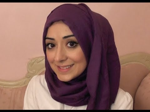 Simple Easy Hijab Tutorial