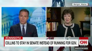 Susan Collins Full State of the Union interview - CNN