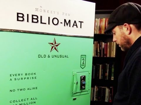 Book Vending Machine and more... -- BiDiPi #32