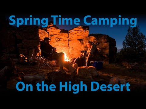 Spring Car Camping | Camp Cooking and Landscape Photography