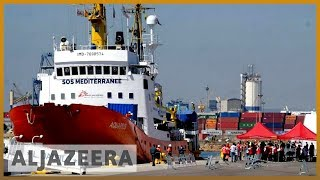 Refugee ship Aquarius to stop rescue mission in the Mediterranean l Al Jazeera English - ALJAZEERAENGLISH