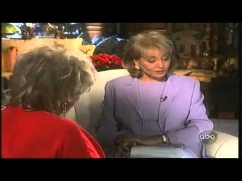 Elizabeth Taylor interview Barbara Walters (with jewels)