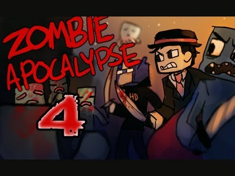 Minecraft: Zombie Apocalypse! ft. Nova & Immortal; Part 4: The Pipes are Calling!