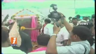 CM KCR Inaugurates Development Works In Jangaon   Telangana   iNews - INEWS
