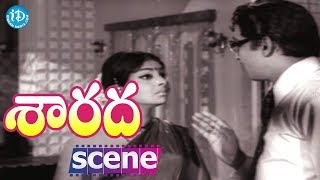 Sarada Movie Scenes - Sharada Comedy || Shobhan Babu || Kaikala Satyanarayana - IDREAMMOVIES