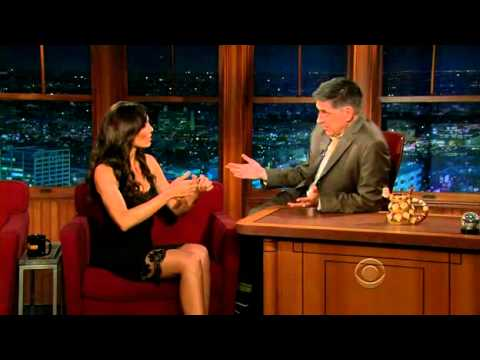 Daniela Ruah on Craig Ferguson LATE LATE SHOW (01.05.2012) WITH CAPTIONS