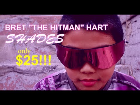 Bret The Hit Man Hart Vintage Shades Commercial 2012
