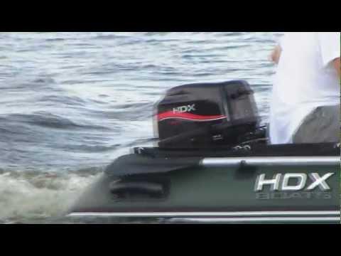 тест лодочных моторов hdx 5 л.с