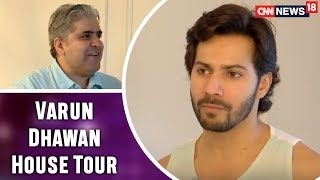 Varun Dhawan Opens his House and Heart for Rajeev Masand | Exclusive Interview | CNN News18 - IBNLIVE