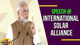 PM Modi's FULL speech at the Founding Conference of the International Solar Alliance | Mango News - MANGONEWS