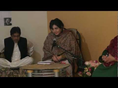 FIRST TAQDEES-E-ADAB MUSHAIRA 2012 PART-6 ........FARAH IQBAL AND NOSHA ASRAR