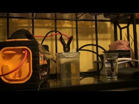 Carro movido a agua Video 3