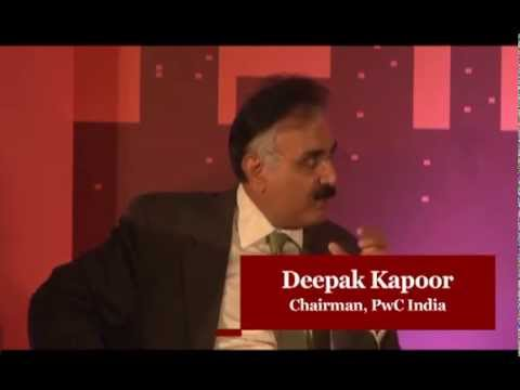 Deepak Kapoor, Chairman, PwC India, at the PwC-BS CEO Summit 2013