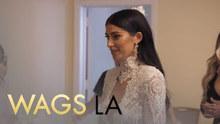 WAGS LA | Blushing Bride Nicole Williams Walks Down the Aisle | E! - EENTERTAINMENT