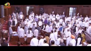 Rajya Sabha Leaders Standing Ovation To National Anthem | Rajy Sabha Sessions 2017 | Mango News - MANGONEWS