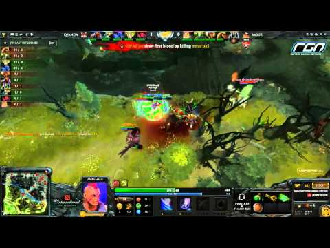 The International 2013 West Qualifier - Mouz vs. QPAD [Game 2]