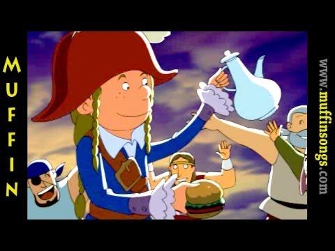 Muffin Stories – ?Young Captain Kiddo's Dream İngilizce Çocuklar için İngilizce Masalları, Hikayeler ve Fabllar