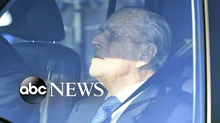 Prince Philip reportedly spotted back behind the wheel - ABCNEWS