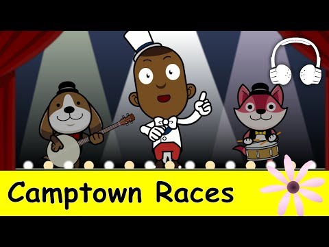 Muffin Songs – Camptown Races Family Sing Along