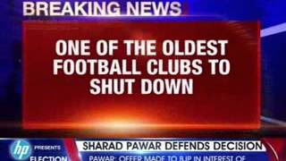 One of the oldest football clubs to shut down - NEWSXLIVE