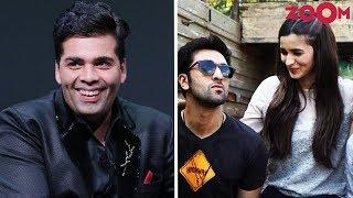 Karan Wants More Intimate Scenes Between Ranbir & Alia In 'Brahmastra'? - ZOOMDEKHO