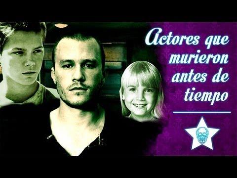 Actores que murieron antes de tiempo