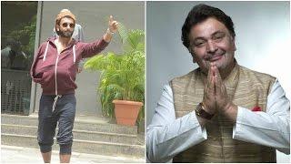 Ranveer Sports The Hoodie Look | Rishi Kapoor Targets The New Gen Actors