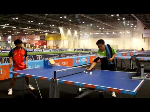 DAY 1 TSP Return Board Practice Ping Pong Dubai