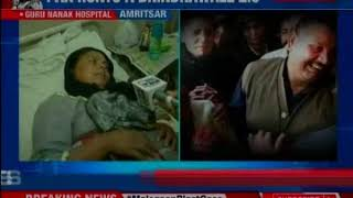 || Amritsar Attack || Punjab CM Amarinder Singh hints at ISI- orchestrated attack - NEWSXLIVE