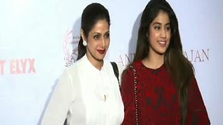 Sridevi at an art exhibition - IANSINDIA